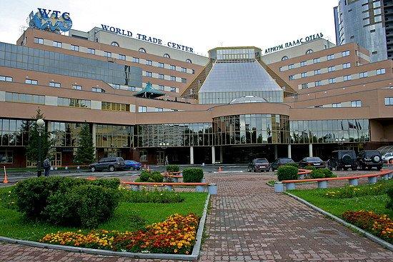 Атриум палас отель г. Екатеринбург